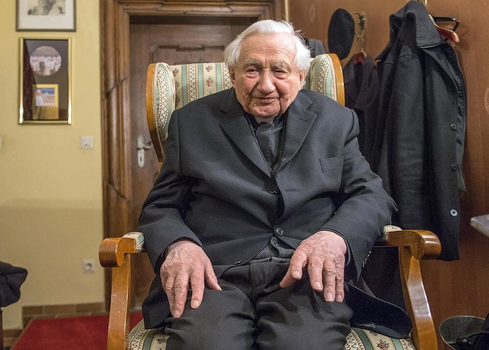 369501_Georg Ratzinger, hermano del papa emérito Benedicto XVI - AFP