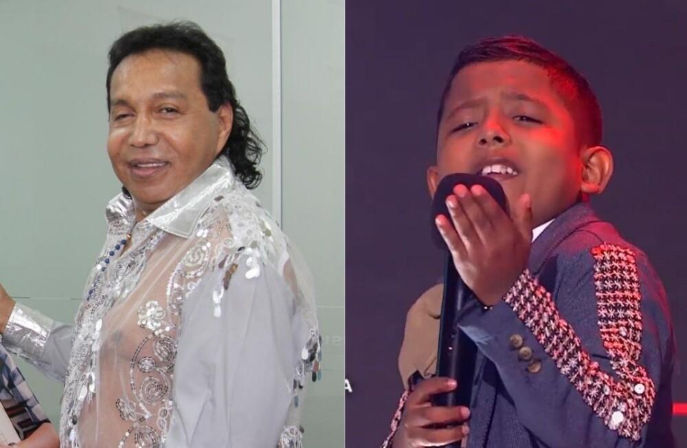 Comparan a niño de La Voz Kids con Diomedes Díaz.