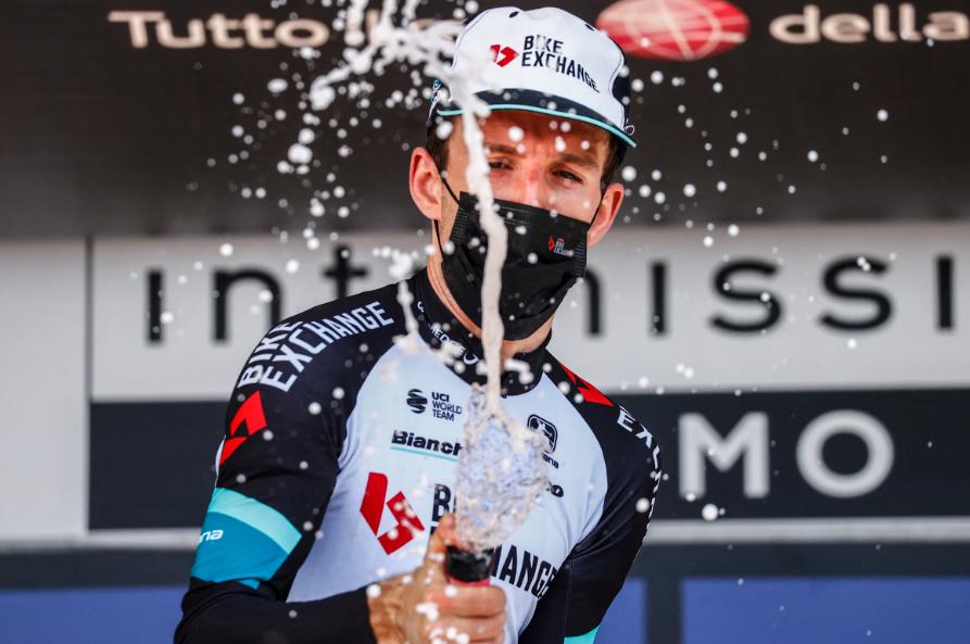 Simon Yates fue el ganador de la etapa 19 del Giro de Italia.