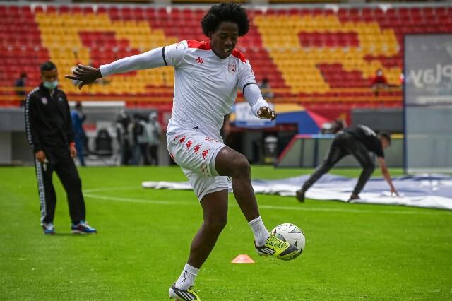 Carlos Sánchez debutó en Independiente Santa Fe