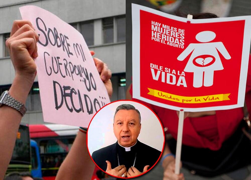 346677_Debate sobre el aborto en Colombia, monseñor Juan Vicente Córdoba // Fotos: AFP, Conferencia Episcopal Colombiana