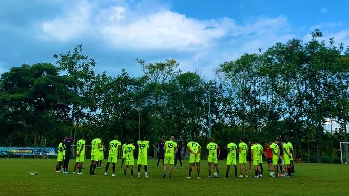 Entrenamiento Pereira. Foto: Twitter Corpereira