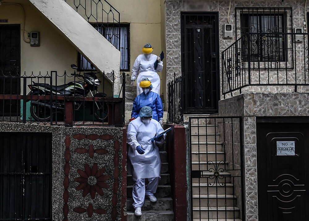 372680_Cuarentena en Medellín // Foto: AFP, imagen de referencia