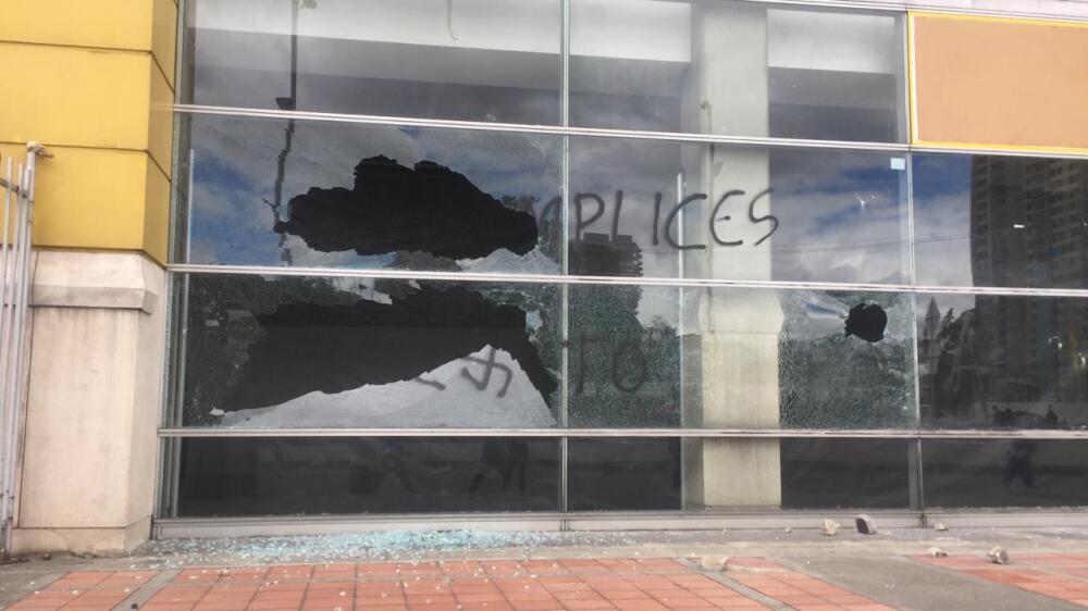 Ataque al Éxito de las Américas en Bogotá