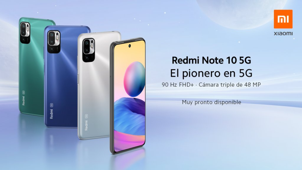 Celular de Xiaomi Redmi Note 10 5G llega a Colombia