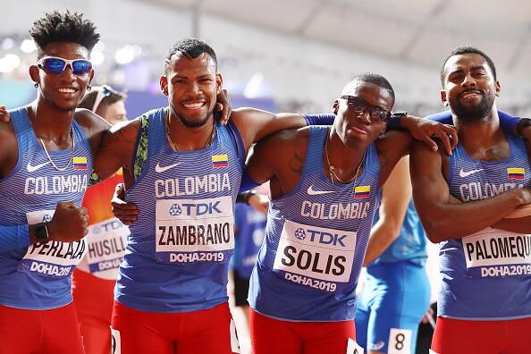 Diego Palomeque, uno de los mejores atletas de Colombia