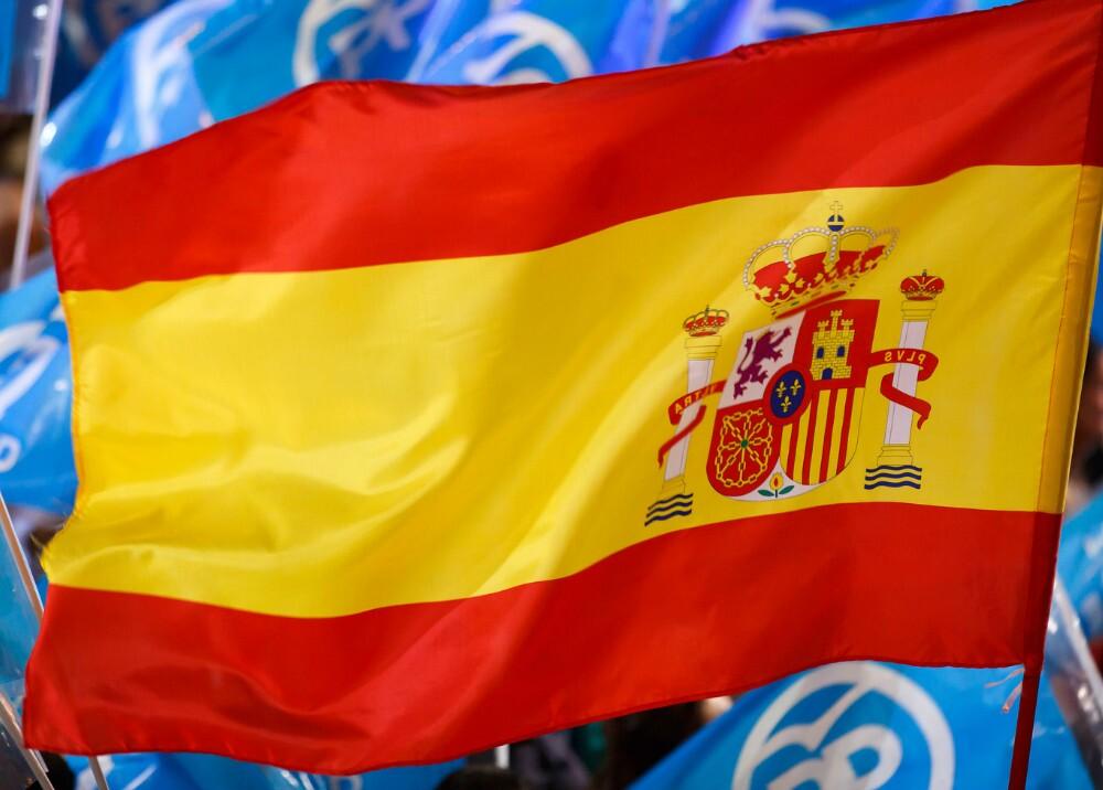 283786_BLU Radio, bandera de España / foto: AFP