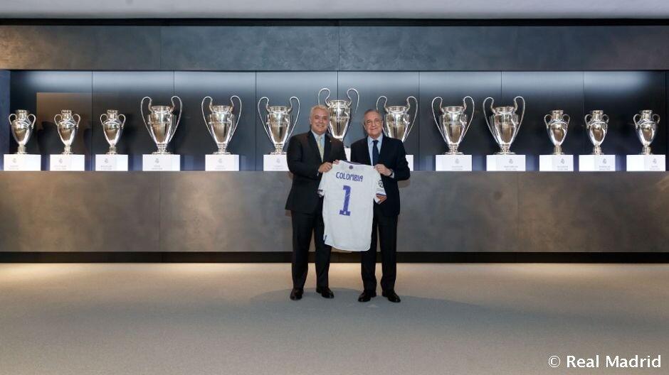 Iván Duque Real Madrid