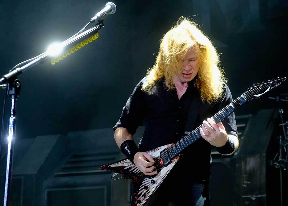 336605_Blu Radio // Dave Mustaine // Foto: AFP