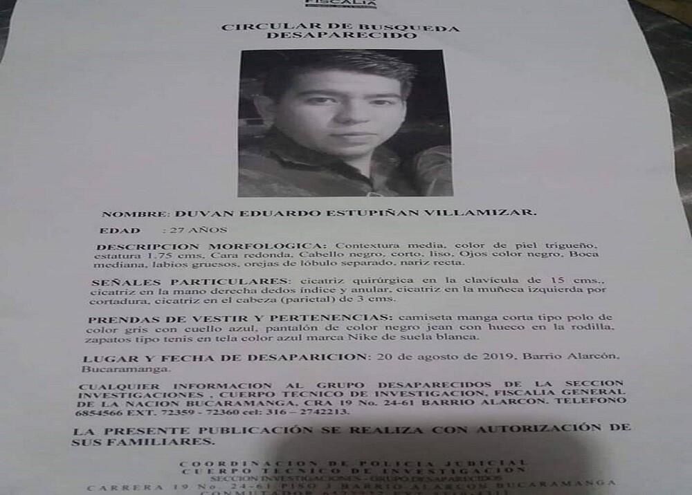 Hombre reportado como desaparecido fue hallado muerto en un hotel de Bucaramanga