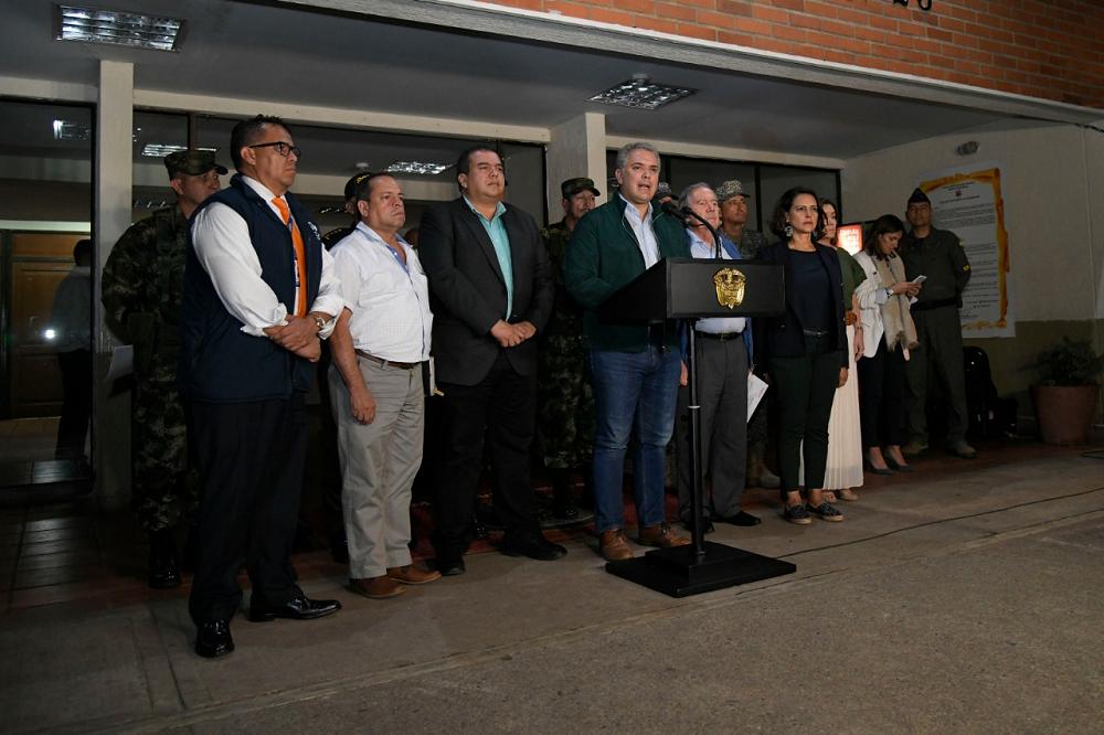 342937_BLU Radio. Iván Duque Márquez / Foto: Presidencia