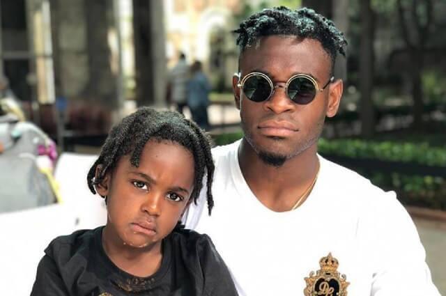 336667_Duván Zapata y su hijo Dayton