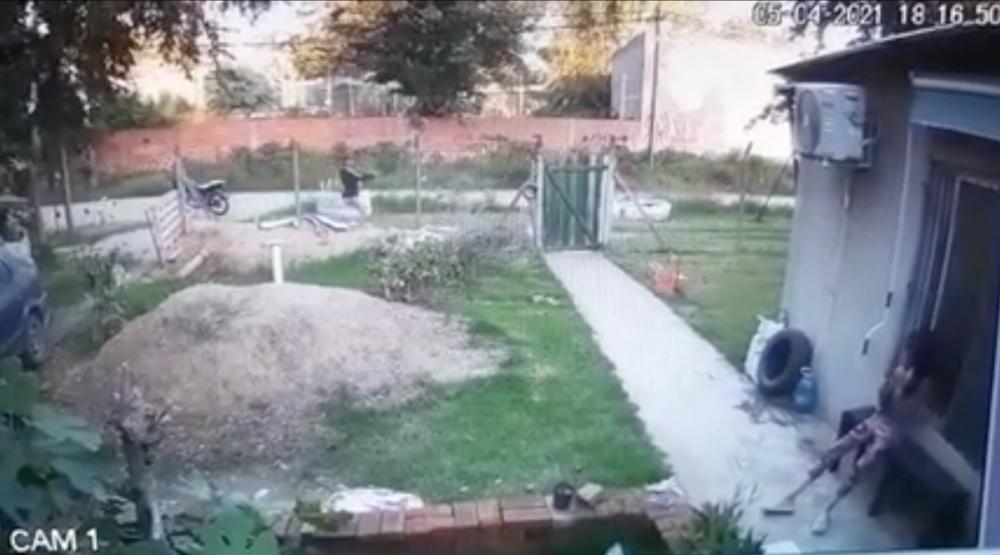 Violento robo en Argentina