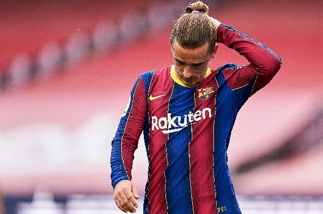 Antoine Griezmann, en el Fútbol Club Barcelona