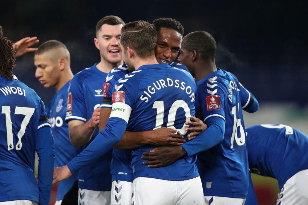 Yerry Mina, Everton vs Tottenham