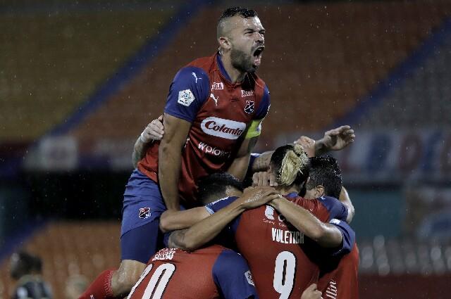 Andrés Cadavid, en Independiente Medellín contra Águilas Doradas