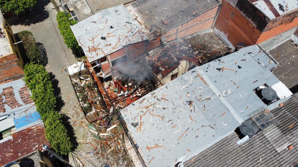 Explosión bodega de cilindros de gas medicinal en Caucasia, Antioquia.jpeg