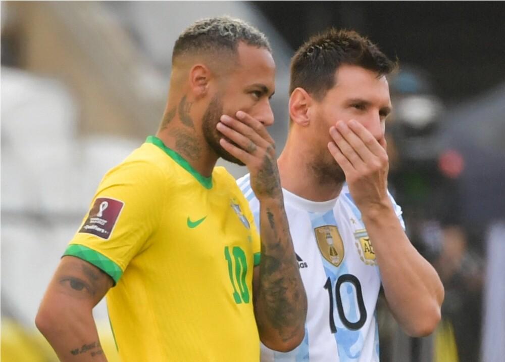 Neymar Jr y Lionel Messi_AFP.jpg