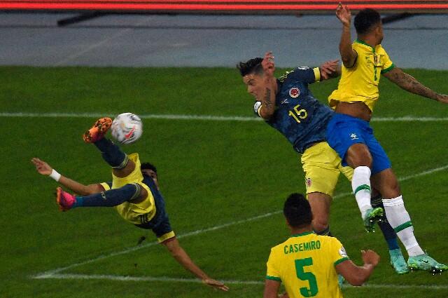 Gol de Luis Díaz en Brasil vs. Colombia