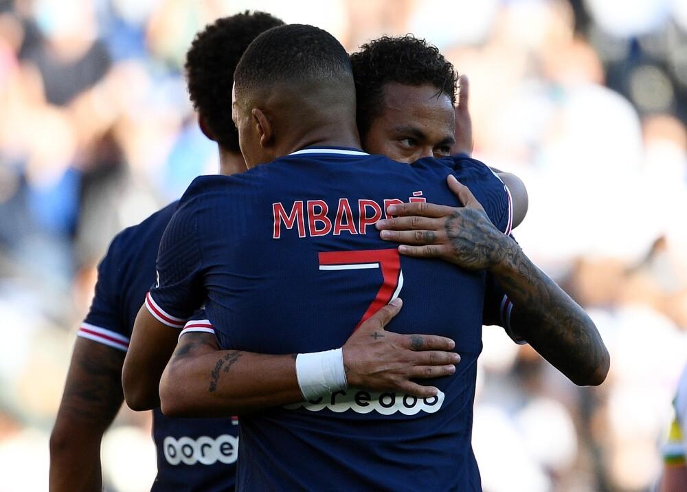 371798_Neymar_Mbappé // Foto: AFP