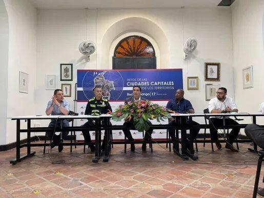 Alcaldes de principales ciudades se reunieron para encontrar alternativas para enfrentar inseguridad