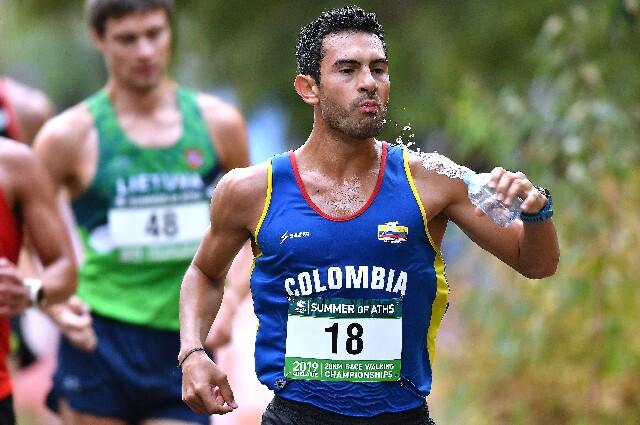 Éider Arévalo, deportista colombiano