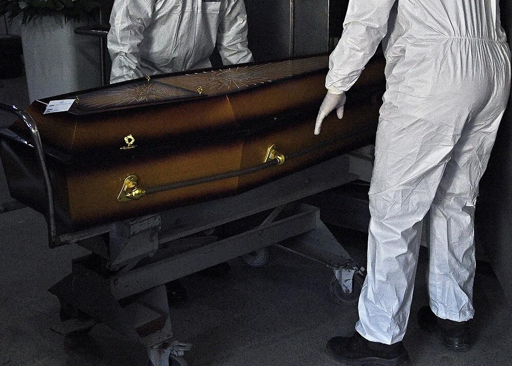366785_Muertes por coronavirus // Foto: AFP, imagen de referencia