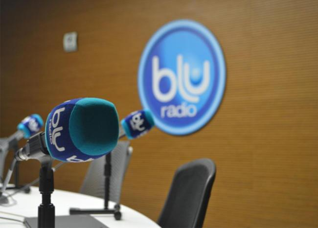 360694_Cabina BLU Radio // Foto: BLU Radio