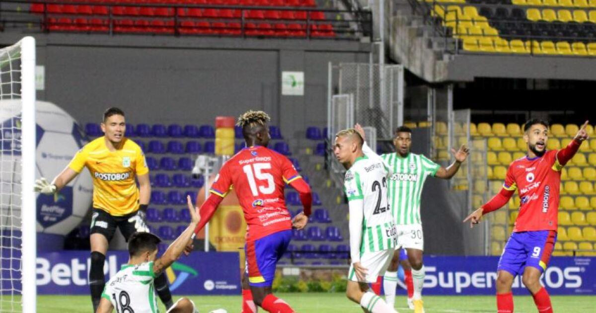 Pasto y Nacional empataron 0-0, en un partido marcado por nueva polémica del VAR