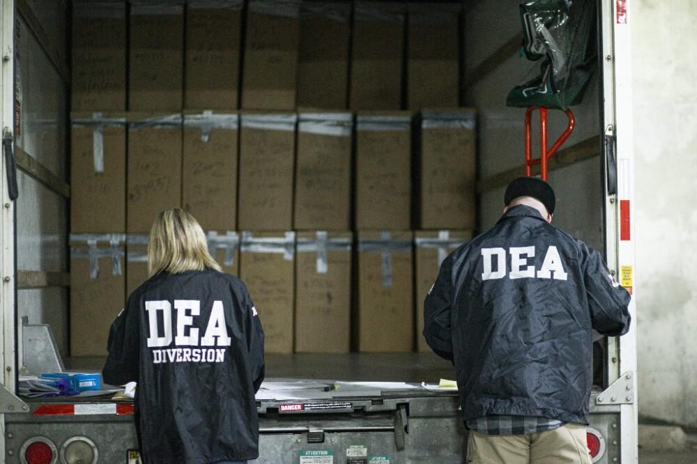 DEA. Foto AFP