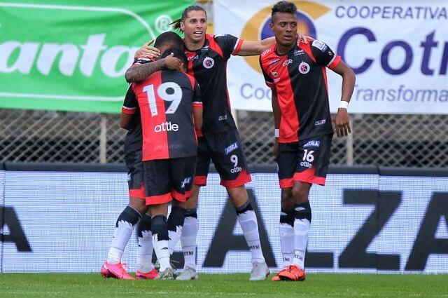 332584_Agustín Vuletich, autor del último gol de Cúcuta Deportivo