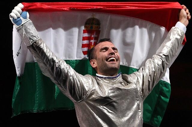 Aron Szilagyi, en los Juegos Olímpicos