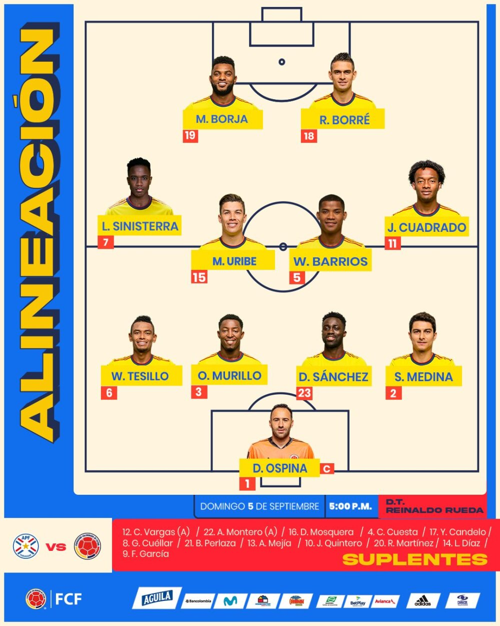seleccion-colombia-nomina