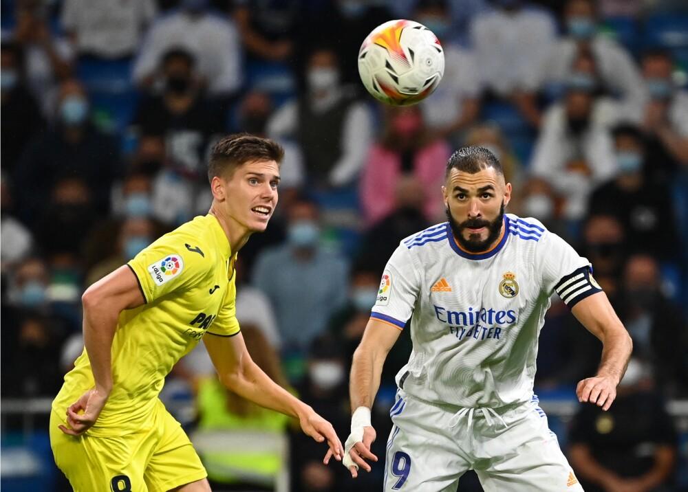 Real Madrid empató con Villarreal Foto AFP.jpg