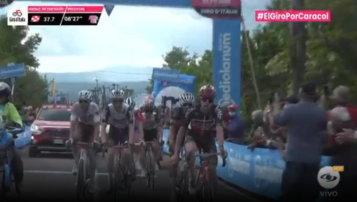 Premio de montaña 1 etapa 11 del Giro de Italia
