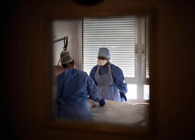 Hospital en pandemia