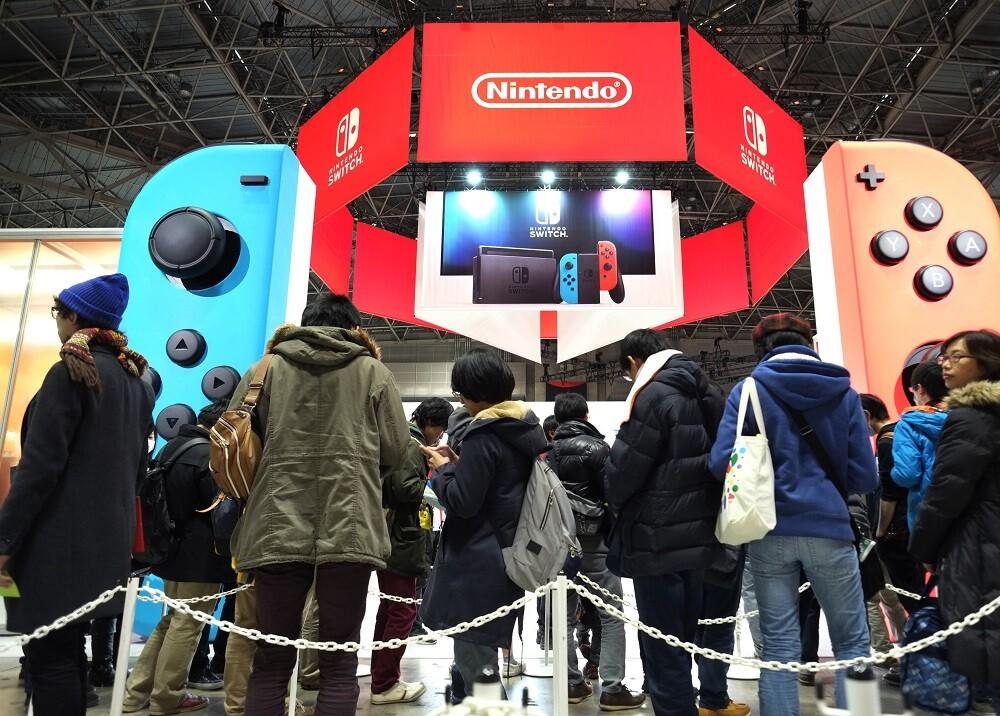 283007_Blu Radio. Nintendo. Foto: AFP