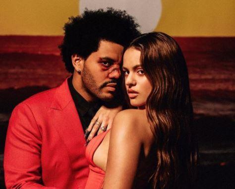 The Weeknd y Rosalia.JPG