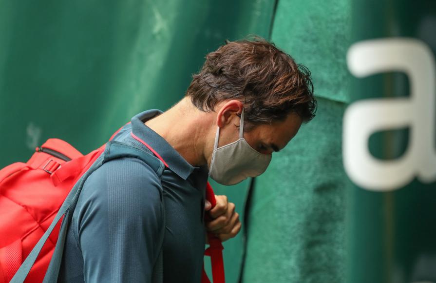 Roger Federer perdió en octavos de final del ATP 500 de Halle.