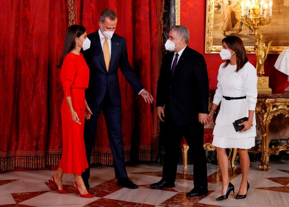 La historia detrás de los regalos que Duque y la primera dama les dieron a los reyes de España AFP.jpg