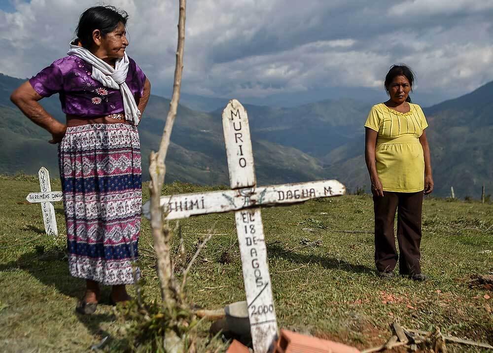 335682_Blu Radio// Asesinato líderes sociales // Foto: AFP