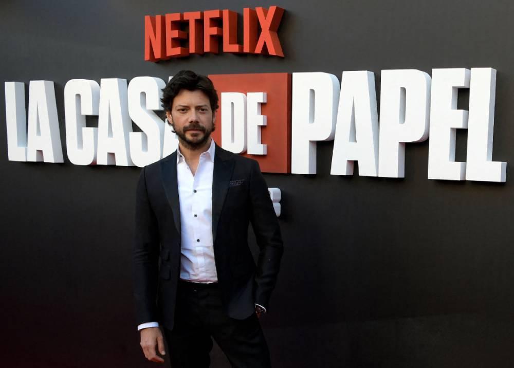 Álvaro Morte, actor en La Casa de Papel