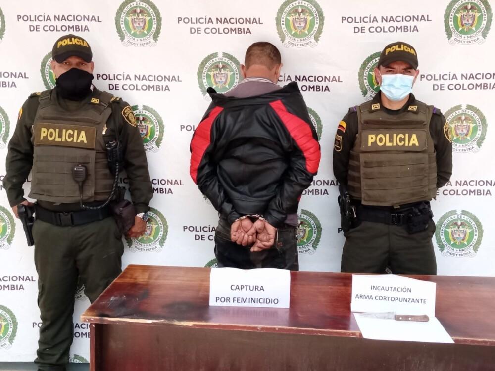 capturado por presunto feminicidio en Marinilla.