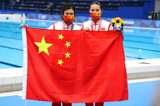 China, en trampolín tres metros en los Juegos Olímpicos de Tokio