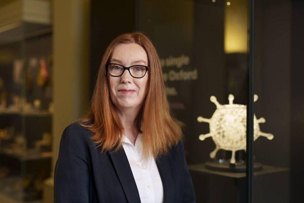 Sarah Gilbert, creadora de la vacuna de Oxford