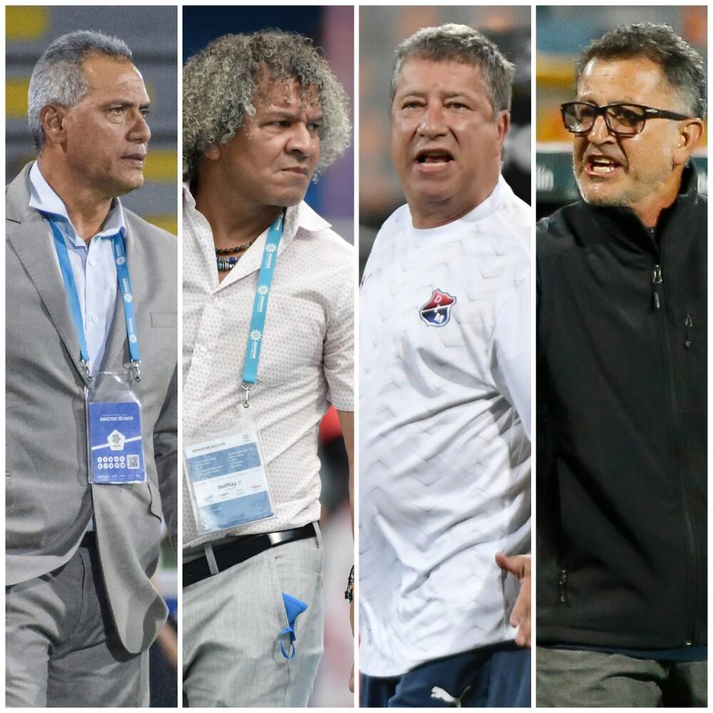 Técnicos fútbol colombiano