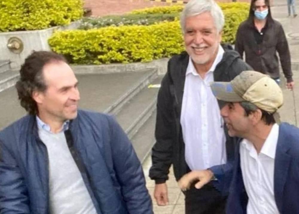 Federico Gutiérrez, Enrique Peñalosa y Alejandro Char