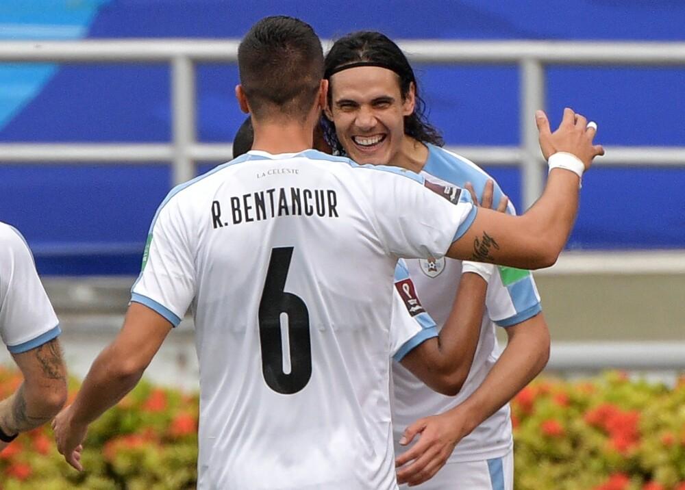 Selección Uruguay Edinson Cavani foto afp.jpg
