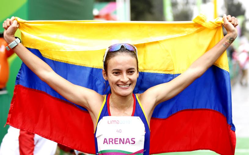 Sandra Lorena Arenas representará a Colombia en los Juegos Olímpicos de Tokio 2020.