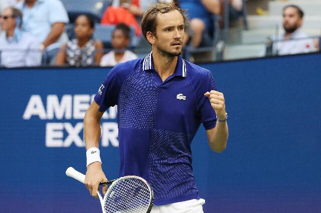 Daniil Medvedev, en el US Open